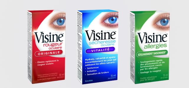 Quels sont vos symptômes oculaires?